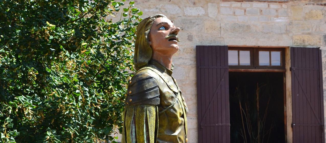 HÉROES ÓMICRON:Cyrano de Bergerac, astronauta